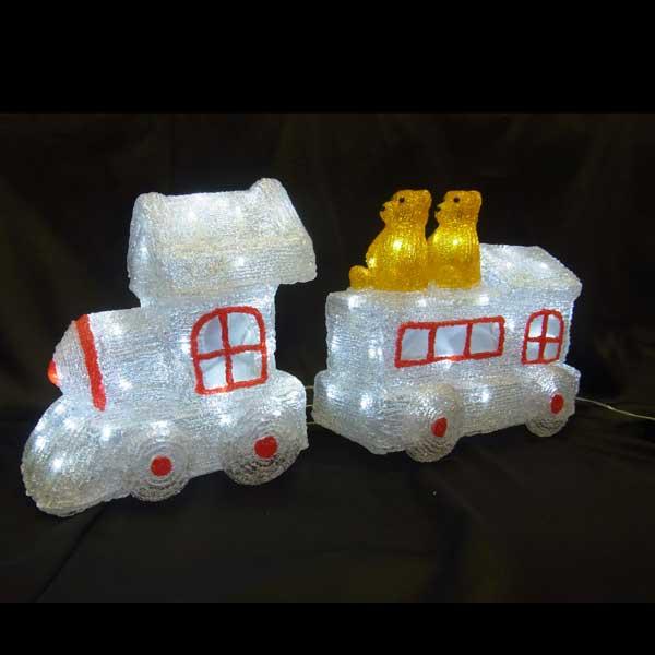 LEDイルミネーション/3Dモチーフライト LED ベアトレイン/イルミネーション/クリスマス/コロナ産業/RCP