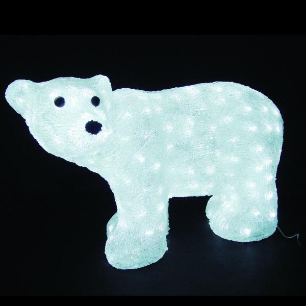 LEDイルミネーション/3Dモチーフライト LEDアクリル スタンドベア/イルミネーション/クリスマス/送料無料/コロナ産業/RCP/05P03Dec16/【HLS_DU】