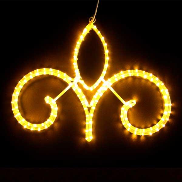 LEDイルミネーション/2Dモチーフライト LEDストリートモチーフ アラベスク62/イルミネーション/クリスマス/LED/コロナ産業/RCP/05P03Dec16/【HLS_DU】