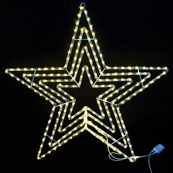 LEDイルミネーション/LEDスターライトモチーフ/LEDビッグスター電球色/イルミネーション/クリスマス/チューブライト/送料無料/コロナ産業/RCP/05P03Dec16/【HLS_DU】