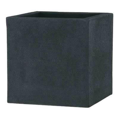 高級感漂うマットブラックの植木鉢 グラスファイバー製植木鉢/ブラックアイロンライトBLチェルトンハム Lサイズ/送料無料/B-1/RCP/05P03Dec16/【HLS_DU】