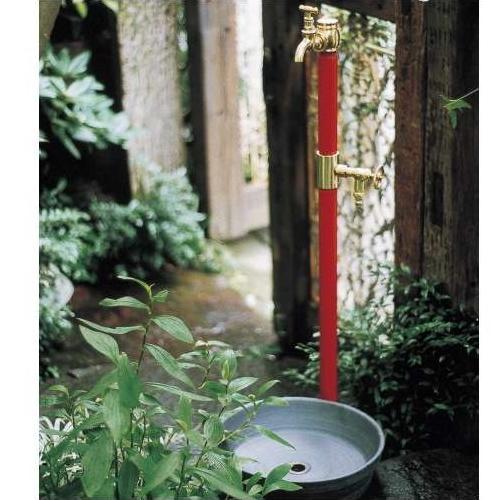 水栓柱 双口 /送料無料/D-1