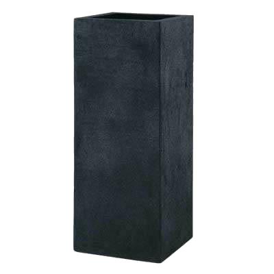 高級感漂うマットブラックの植木鉢 /グラスファイバー製植木鉢/ブラックアイロンライト BLへリッチ/送料無料/B-1/RCP/05P03Dec16/【HLS_DU】