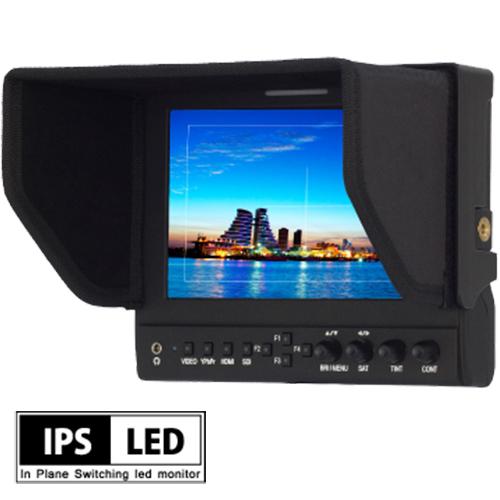 3G-SDI / XLR電源 / Vマウントバッテリー対応 7インチIPS液晶モニタ HM-TLB7SV2 EOS 5D MarkII / MarkIIIモード搭載