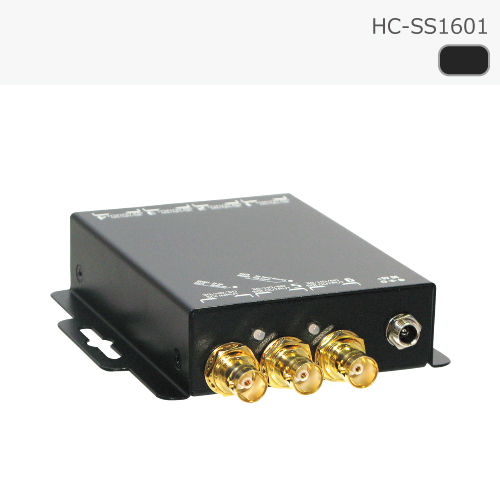 SDI スプリッタ 1入力 6出力 リクロック対応 カスケード接続対応 【スプリッター 分配器 延長】
