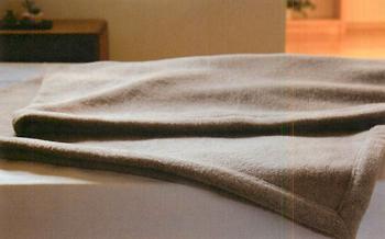 京都西川 ローズ毛布 カシミヤ毛布(毛羽部分) 140x200cm