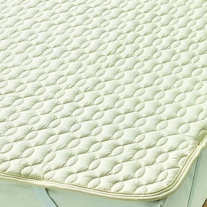 [24%OFF] 西川リビング Body Wool 洗える羊毛ベッドパッドワイドダブルサイズ(155×200cm) 098