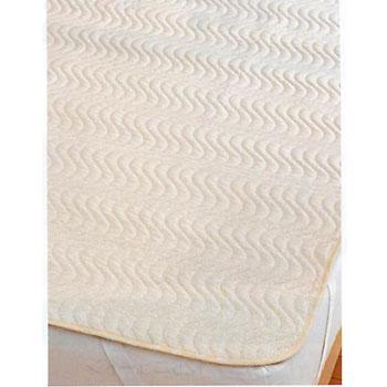 【西川リビング】【24+(トゥエンティーフォープラス)】洗えるベッドパッド ダブルTFP57