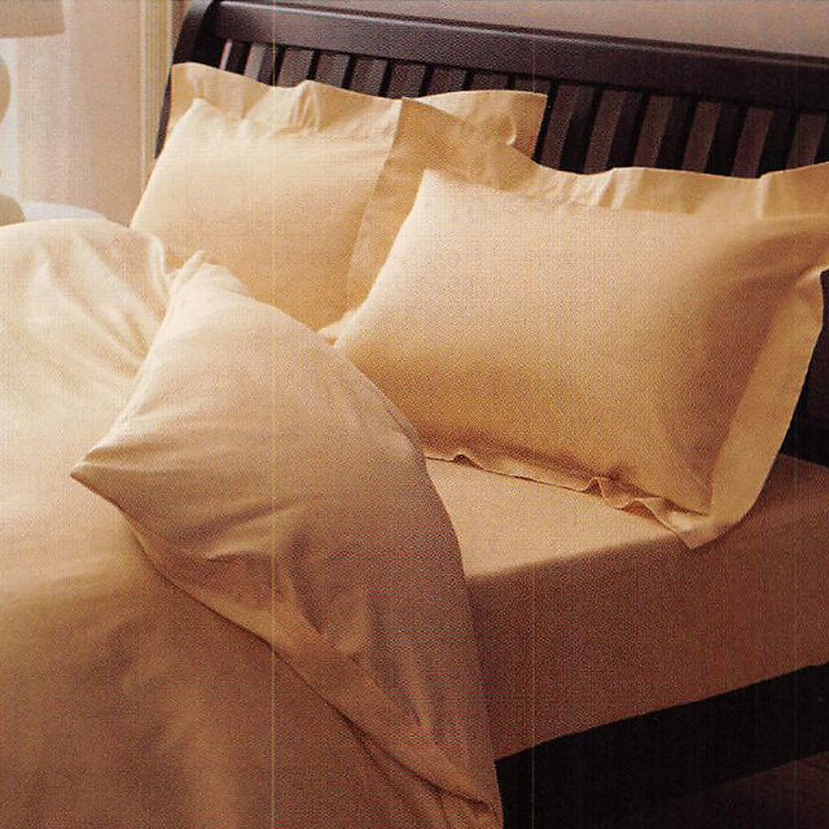 西川リビング 24+(トゥエンティーフォープラス) ベッドフィッティパックシーツ(サテン織り)クイーン(Q:160×200×40cm) TFP-06