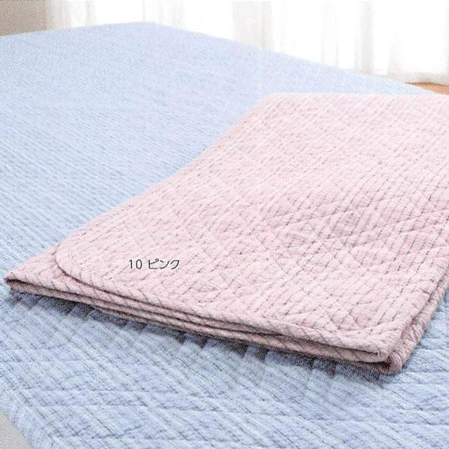 ロマンス小杉 きぎの暮らし 阿波しじら織 綿わた入り敷きパッド 100×205cm