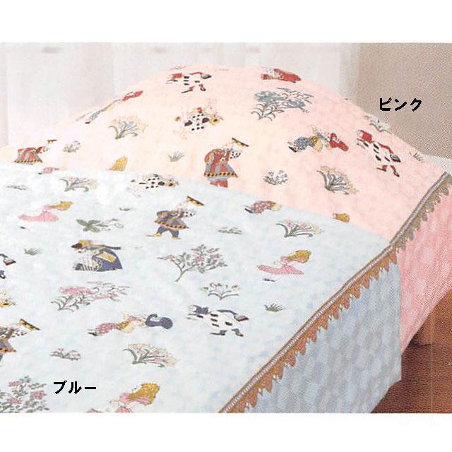 [ポイント10倍] ロマンス小杉 V&A 真綿肌掛けふとん(布団)シングルロングサイズ 150×210cm