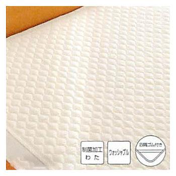 [24%OFF] ロマンス小杉 スリーピングギア ベッドパッド 制菌・ウォッシャブルタイプ クイーンサイズ(160×200cm)