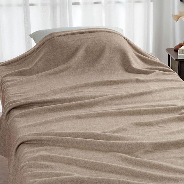 ロマンス小杉 ROMANCE CROWN(ロマンスクラウン) カシミヤ毛布(毛羽部分) ダブル 180×210cm 四方額仕上げ 日本製