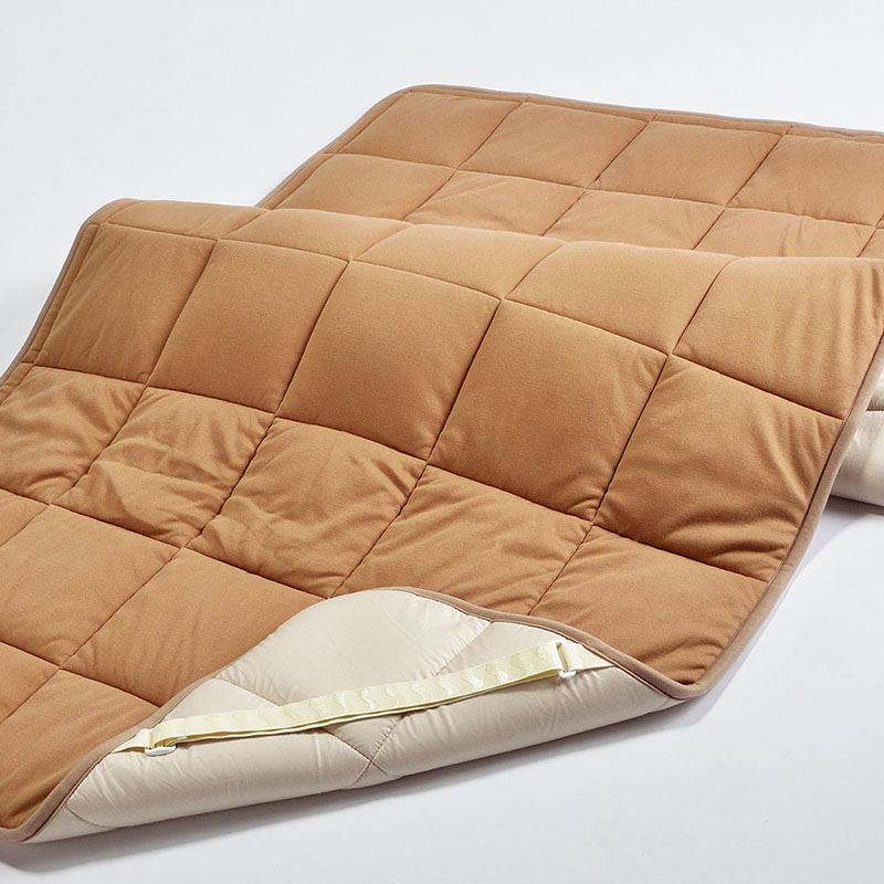新品入荷 [ポイント6倍] ベッドパッド 西川 キャメル ベッドパッド 敷きパッド 日本製 セミダブル 120×200cm 1.44kg 日本製 [ポイント6倍] (C7017), 玉名郡:b347b432 --- superbirkin.com