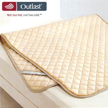[ポイント6倍] Outlast(アウトラスト) ベッドパッドダブルサイズ OT5010 東京西川[キャッシュレスで 5%還元]