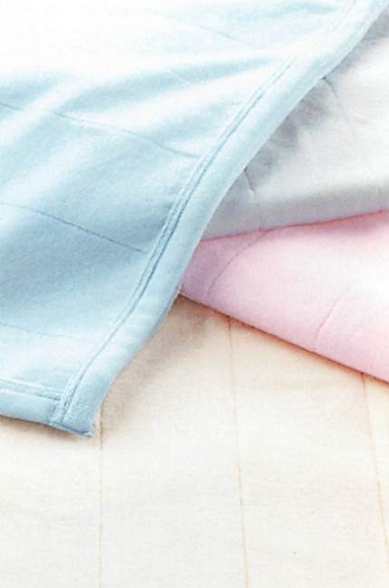 11/19までポイント10倍【東京西川】【Qualial(クオリアル)】シール織綿毛布 ダブルサイズQL4020