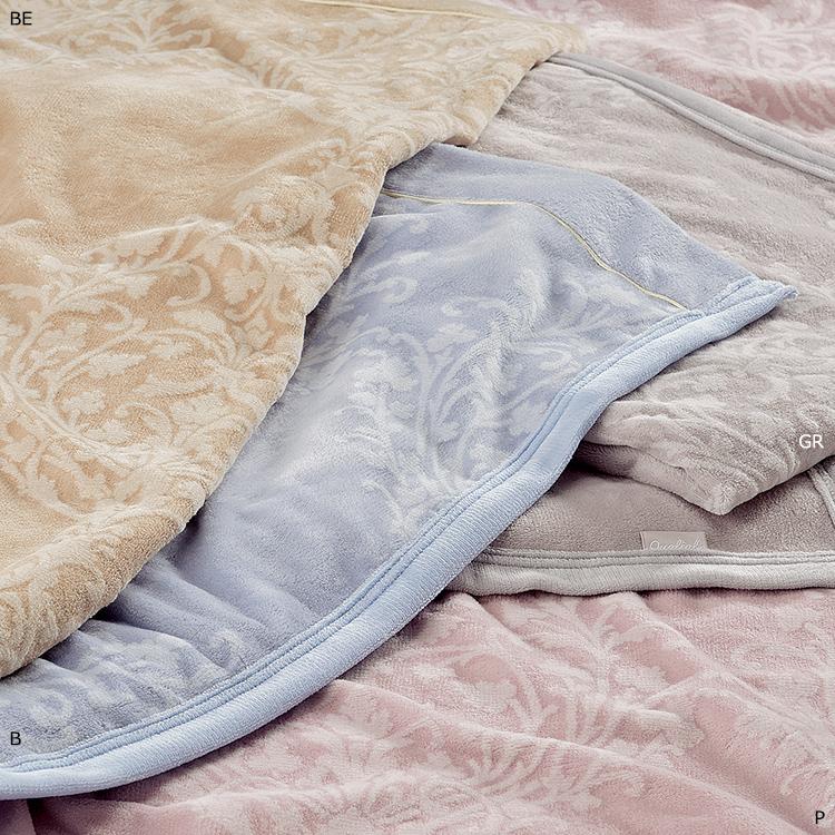 西川 シール織 綿毛布 シングル 140×200cm 日本製 クオリアル Qualial (QL6655)