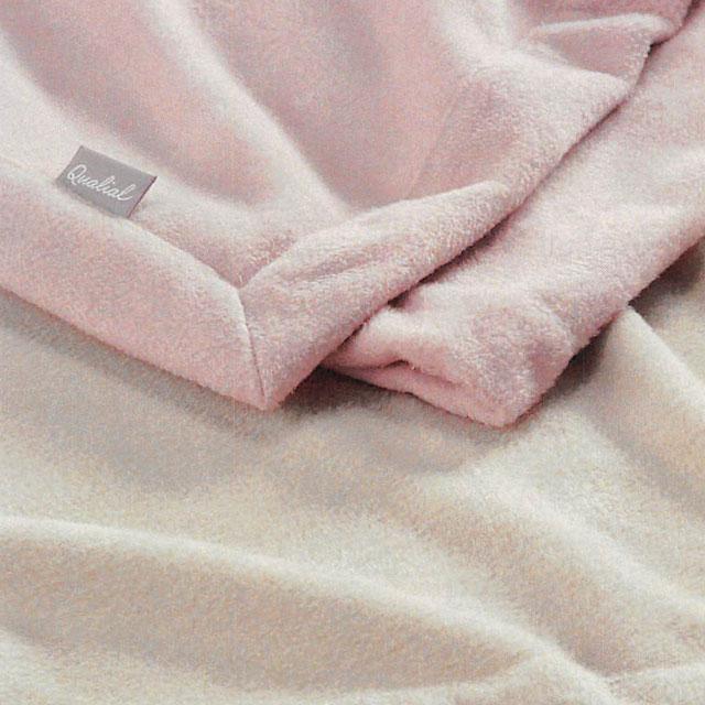 Qualial(クオリアル)シルク毛布 シングル(S:140×200cm)QL6652 東京西川