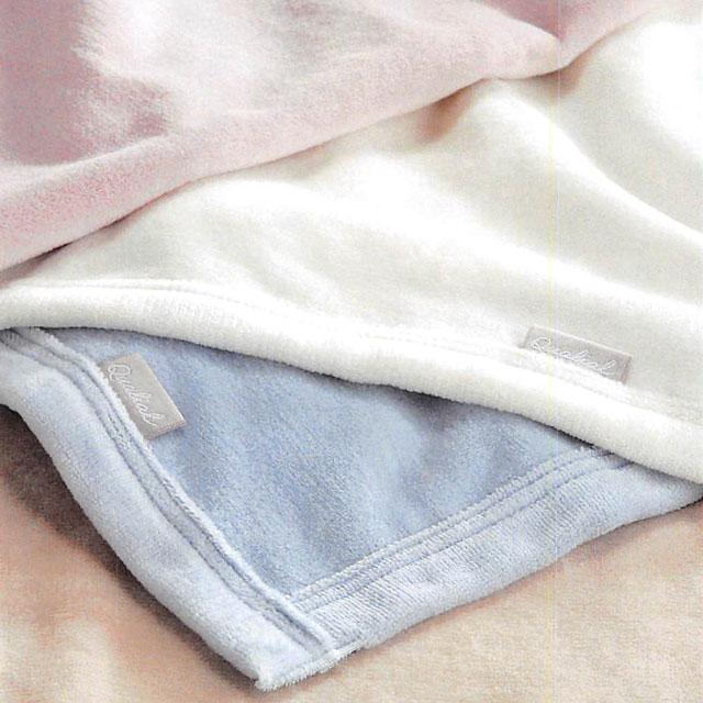 [ポイント6倍] Qualial(クオリアル)シール織綿毛布 ダブル(D:180×210cm)QL6654 東京西川