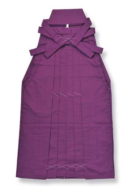 無地袴[はかま]-花紫-