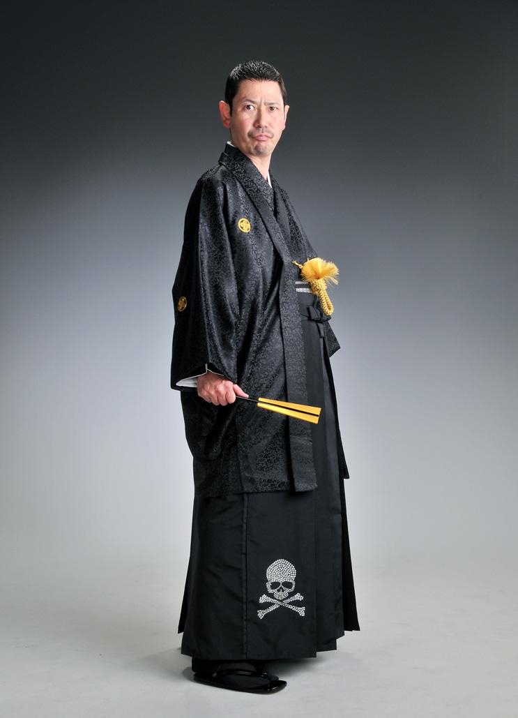 スワロフストーン袴-スカル-[はかま]