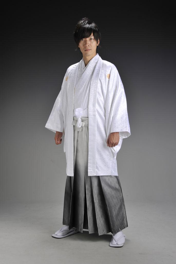 金襴ボカシ袴-縞(シマ)-[はかま]