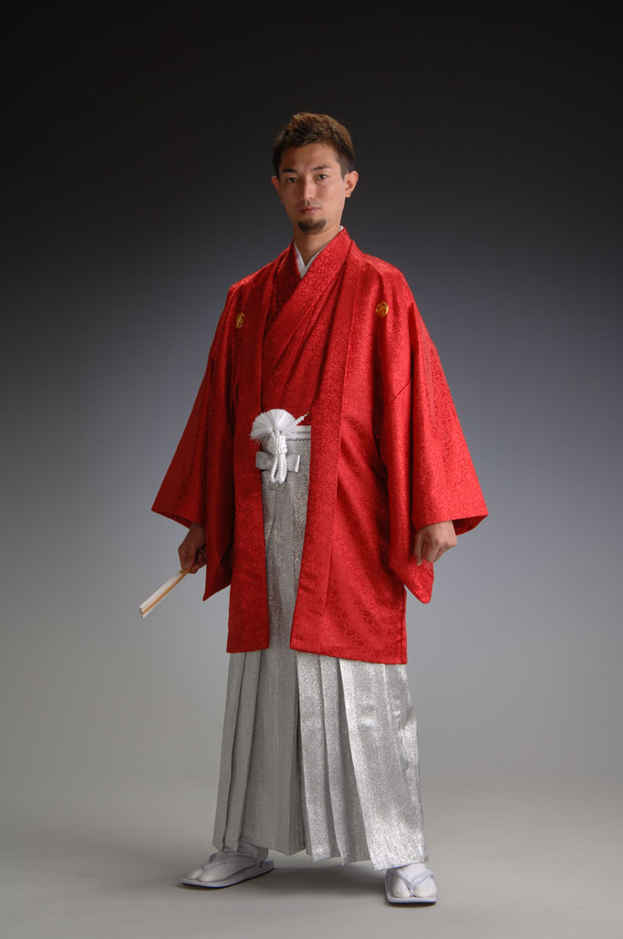 Treasure Linz - red - the haori and kimono set]
