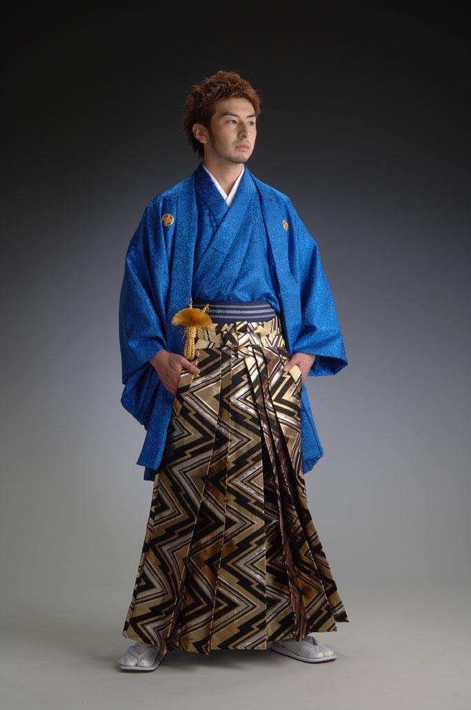 宝リンズ-青-[羽織&きものセット]