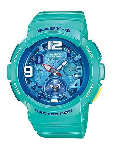 Baby-G 腕時計 レディース カシオ CASIO ベビージー デジアナ ビーチ・トラベラー・シリーズ BGA-190-3B ウォッチ 人気 ブランド ラッピング無料 ホワイトデー 【ベビーG】 【Baby-G】 【腕時計】 激安 おしゃれ かわいい おすすめ セール