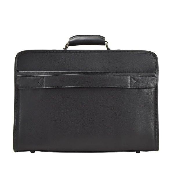 アタッシュケース ソフトアタッシュケース ビジネスバッグ B4 メンズ 2室 キャリーバー通し 通勤 出張 黒 21224 黒 オフィス 鞄 カバン かばん バッグ BAG