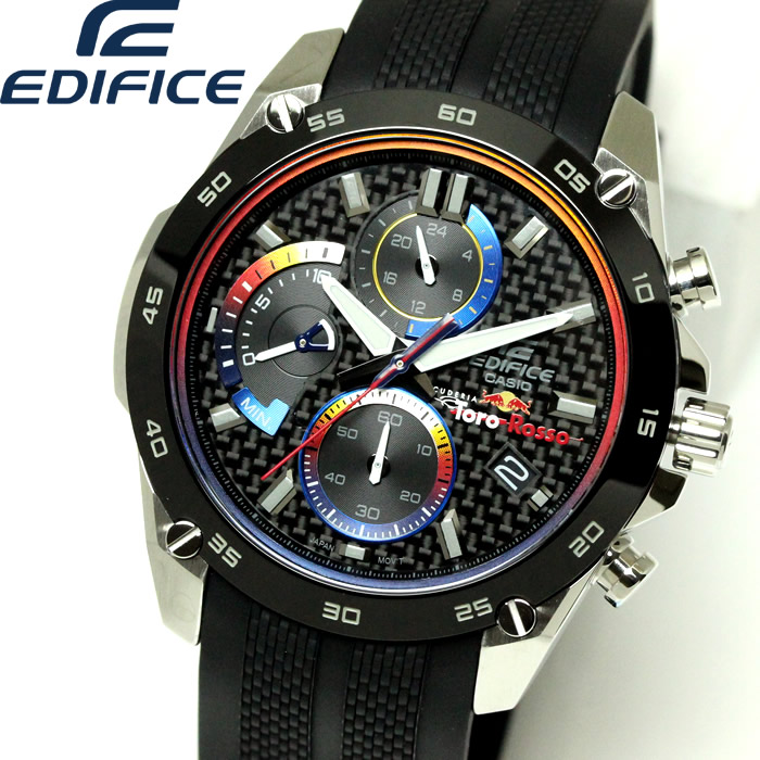 bcd04022f0 国内正規品 男性 多機能 メンズ カシオ 入学式 誕生日プレゼント EDIFICE 腕時計 黒
