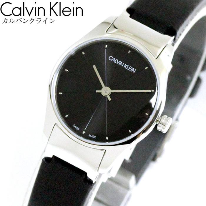 CK カルバンクライン Calvin Klein 腕時計 ウォッチ レディース CLASSIC TOO クラシック トゥー 2針 ブラック レザー K4D231CY ファッション スイス製クオーツ ブランド ラッピング無料可 人気 プレゼント おしゃれ おすすめ