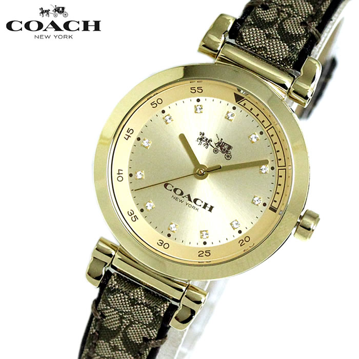 クリスマスプレゼント コーチ COACH レディース 腕時計 14502539 スポーツシグネチャー ウォッチ ブラウン/ゴールド クリスマス プレゼント 人気 ランキング おすすめ 時計 激安 かわいい エレガント 上品 SNS インスタ ラッピング無料可能