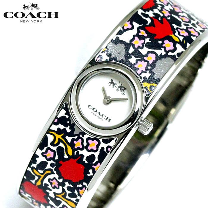 コーチ COACH レディース 腕時計 花柄 バングルウォッチ 14502731 人気 ブランド プレゼント おすすめ ラッピング無料 クオーツ かわいい 高価 ギフト 誕生日 ホワイトデー