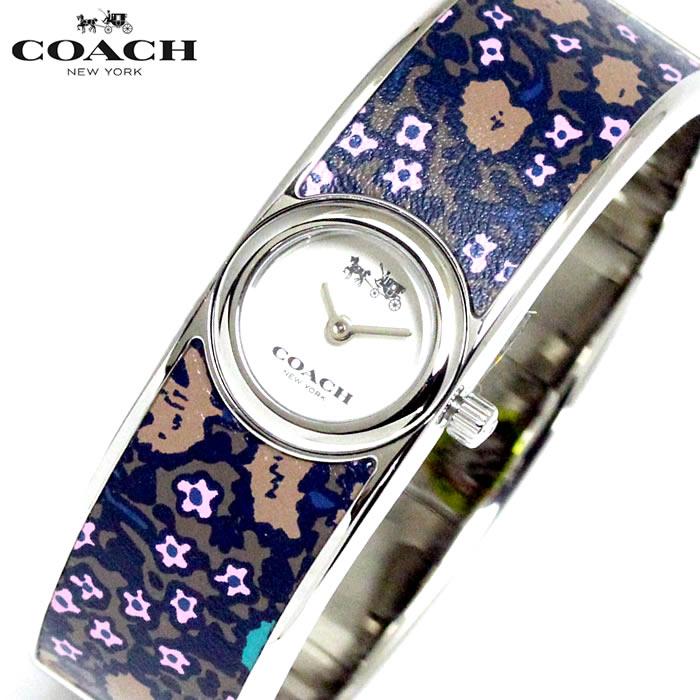コーチ COACH レディース 腕時計 花柄 バングルウォッチ 14502732 人気 ブランド プレゼント おすすめ ラッピング無料 クオーツ かわいい 高価 ギフト 誕生日 ホワイトデー