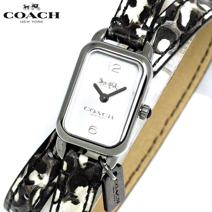 コーチ COACH レディース 腕時計 2重巻き パイソン柄 14502778 人気 ブランド プレゼント おすすめ ラッピング無料 クオーツ かわいい 高価 ギフト 誕生日 ホワイトデー
