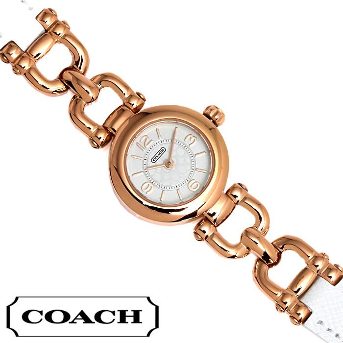 【送料無料】 コーチ COACH レディース 腕時計 ウェイバリー 14501855 ピンクゴールド×ホワイト ブランド 特価 プレゼント ギフト おすすめ
