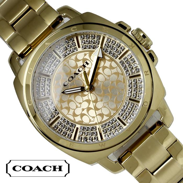 【送料無料】コーチ COACH レディース 腕時計 ボーイフレンド パヴェ ミニ 14501994 ゴールド ブランド 特価 プレゼント ギフト おすすめ