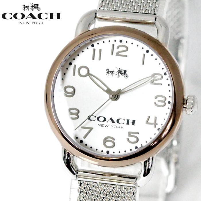 コーチ COACH レディース 腕時計 DELANCEY デランシー ウォッチ ゴールド/シルバー 送料無料 14502246 ランピング無料 ブランド おしゃれ おすすめ 激安 プレゼント ランキング 流行 大人 かわいい 【腕時計】 【ブランド】