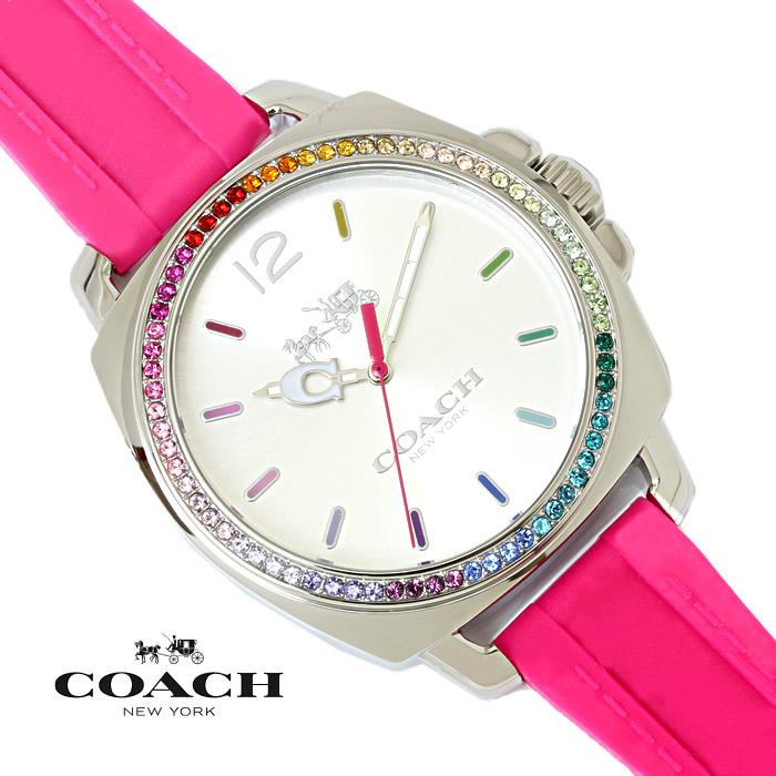 【送料無料】 コーチ COACH レディース 腕時計 ボーイフレンド スモール BOYFRIEND SMALL 14502529 ピンク ブランド 特価 プレゼント ギフト おすすめ