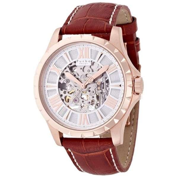 フルボデザイン Furbo design 腕時計 メンズ 激安 ブランド 日本製自動巻き 機械式時計 スケルトン かっこいい 大人 モテル クリスマス おしゃれ プレゼント 【腕時計】とけい 流行 誕生ラッピング無料可能 ランキング f5021psibr