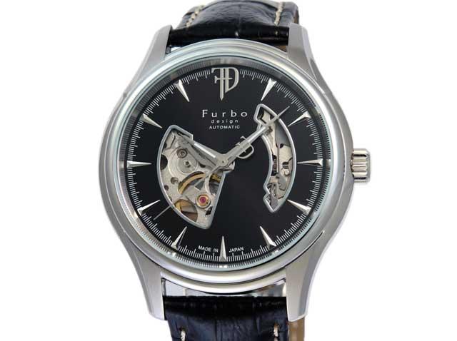 フルボデザイン Furbo design 腕時計 メンズ 激安 ブランド 日本製自動巻き 機械式時計 スケルトン かっこいい 大人 モテル クリスマス おしゃれ プレゼント 【腕時計】とけい 流行 誕生ラッピング無料可能 ランキング f5025nbkbk