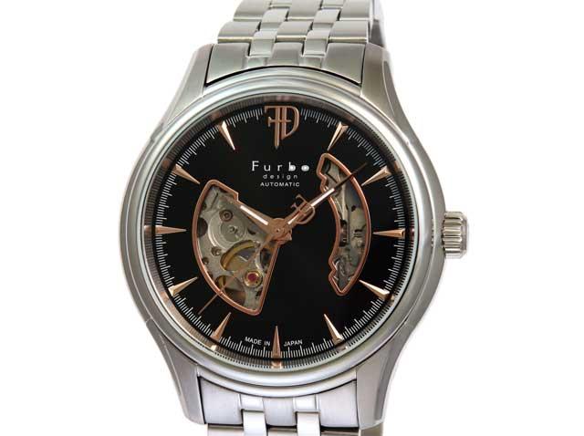 フルボデザイン Furbo design 腕時計 メンズ 激安 ブランド 日本製自動巻き 機械式時計 スケルトン かっこいい 大人 モテル クリスマス おしゃれ プレゼント 【腕時計】とけい 流行 誕生ラッピング無料可能 ランキング f5025nbkss