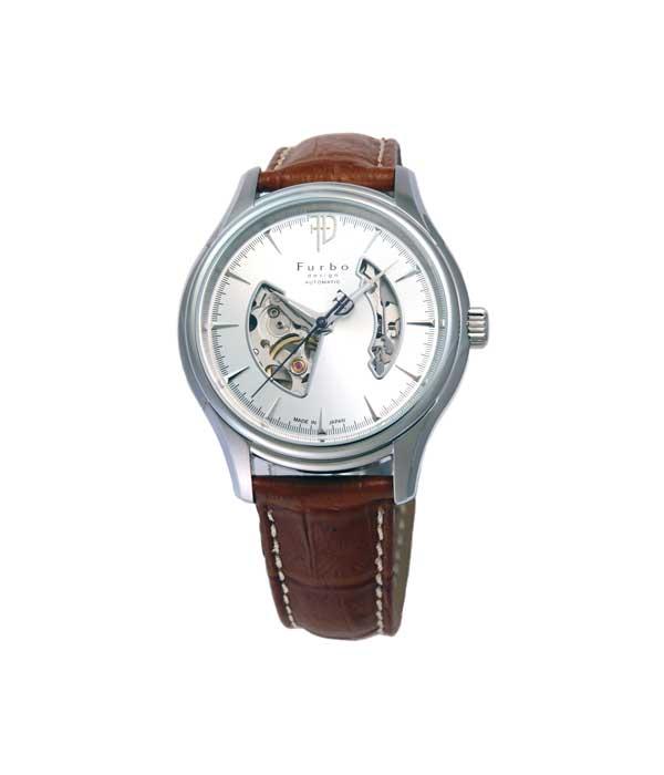 フルボデザイン Furbo design 腕時計 メンズ 激安 ブランド 日本製自動巻き 機械式時計 スケルトン かっこいい 大人 モテル クリスマス おしゃれ プレゼント 【腕時計】とけい 流行 誕生ラッピング無料可能 ランキング f5025nsibr