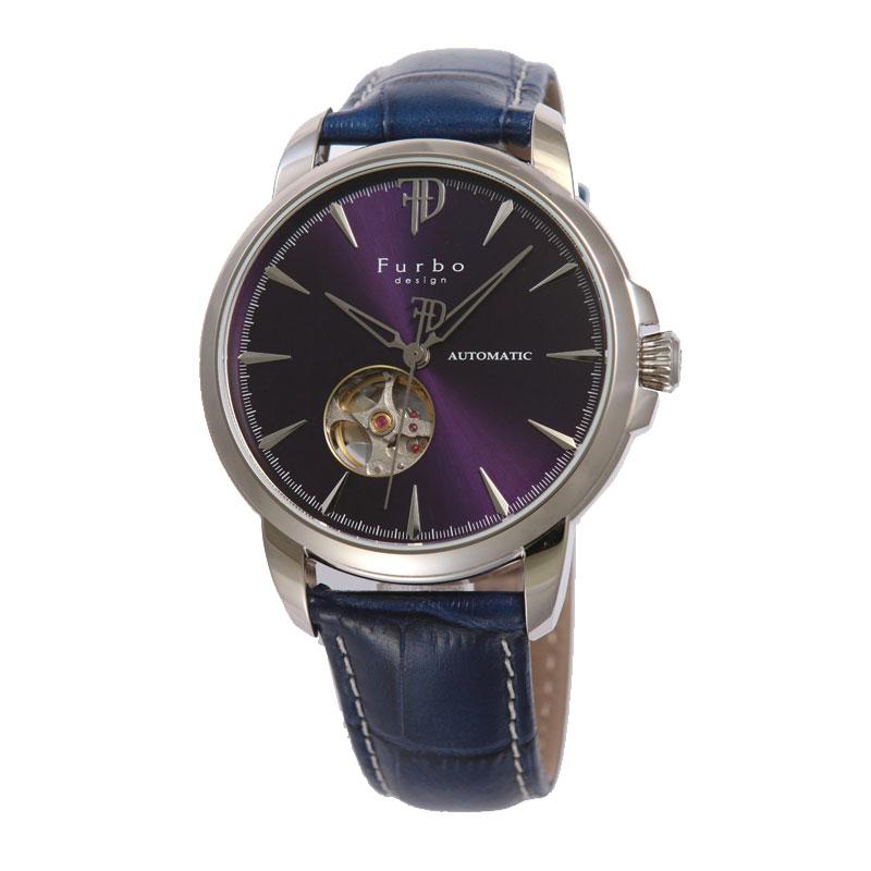 フルボデザイン Furbo design 腕時計 メンズ 激安 ブランド 日本製自動巻き 機械式時計 スケルトン かっこいい 大人 クリスマス おしゃれ ラッピング無料 プレゼント 【腕時計】とけい 流行 誕生ラッピング無料可能 ランキング f5027sblbl