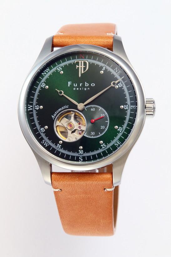 フルボデザイン 腕時計 メンズ ブランド 日本製自動巻き F5030SGRLB グリーン/ライトブラウン ラッピング無料可 人気 プレゼント おしゃれ 芸能人 モデル おすすめ ギフト プレゼント おしゃれ 【腕時計】 ランキング 流行 激安