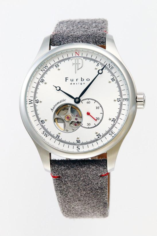 フルボデザイン 腕時計 メンズ ブランド 日本製自動巻き F5030SSIGY ホワイト/グレイ ラッピング無料可 人気 プレゼント おしゃれ 芸能人 モデル おすすめ ギフト プレゼント おしゃれ 【腕時計】 ランキング 流行 激安