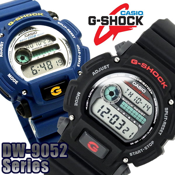 CASIO g-shock mens watch 6600 G shock DW-9052 DW-9052-1 V DW-9052-2 V G- shock from Casio appeared as a watch not broken in 1983 982cca1b3ff