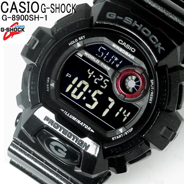 G-SHOCK カシオ メンズ 腕時計 CASIO Gショック Metalic Colors G-8900SH-1 メタリックカラーズ デジタル ウォッチ ブランド 黒 ブラック 人気 大人気 WATCH とけい うでどけい メンズ【メンズ】【ブランド】【腕時計】