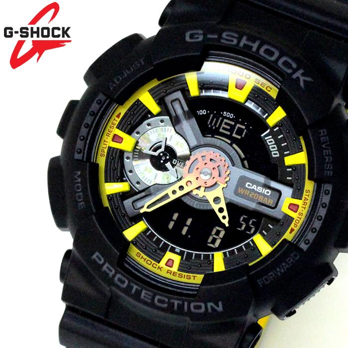 カシオ CASIO Gショック G-SHOCK アナデジ メンズ 腕時計 ハイパーカラーズ GA-110BY-1A ラッピング無料可能 ランキング おすすめ かっこいい 大人 アウトドア おすすめ ギフト クリスマス ラッピング無料可能 プレゼント おしゃれ 【腕時計】 ランキング 流行 激安